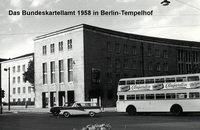 Bundeskartellamt 1958 in Berlin